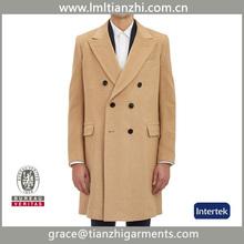 China factory Coats Product Type men jacket coats wool double breasted men coat