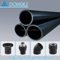 pe palstic pipe hdpe water supply pipe made in china alibaba gated irrigation pipe SDR12.5