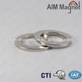 ネオジムn40グレード/ndfebのリング磁石
