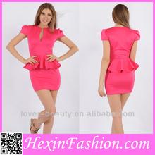 venta al por mayor de color rosa de la oficina de vestir para damas