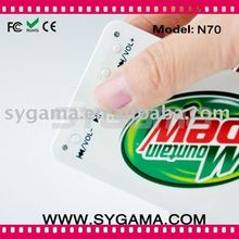 2011 Cheapest name/credit card MP3 player with Free Logo Printing!!!