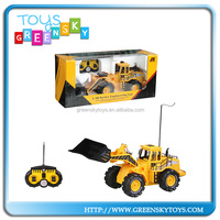Wholesale Toy 1:10 scale 6channel RC Bulldozers Toy car for sale
