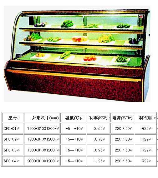 china single temperature refrigerated cake showcase supplier.jpg
