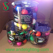 New arrival party decoration led big ball string lights outdoor christmas