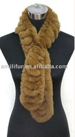 Fashion Rex Rabbit Fur Scarf