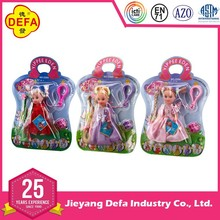 DEFA 4 inch High quality Plastic Baby Doll Hot selling toy