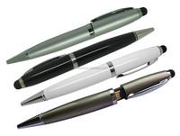 Ballpoint Pen USB, touch pen usb flash drive 3-in-one USB touch pen