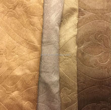 2015 new design 3D embossed blackout curtain fabric, hotel curtains, home decorative curtains
