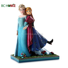 resin action figure of Frozen Free Fall