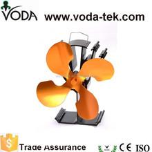 Alta eficiencia de calor impulsado estufa de madera fan eco ventiladores para estufa de leña ( VDSF614G )