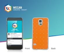 Custom printed flip metal bumper waterproof phone case for lg nexus 5