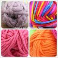 Super chunky fios de lã de tricô fios de gelo fio de algodão de lã grossas