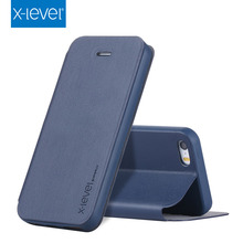 X-Level Hot selling for iphone 5s flip case ,universal leather cell phone case for iphone 5s