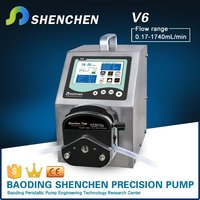 Stainless electric oil pump for concrete,automatic peristaltic pump for transmittal,intelligence digital pump for industrial