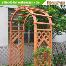 Ornamental and natural carved wood arches