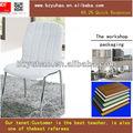 2014 quente& baratos branco cadeiras de sala de jantar cadeira do restaurante