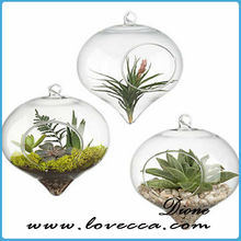 hanging glass ball candle holde---,--decorative glass balls,glass balls with holes