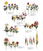 Wholesale decorative cheap factory price gumpaste flower