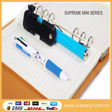 alibaba express new products mobile accessories super mini wired foldable selfie stick as pen