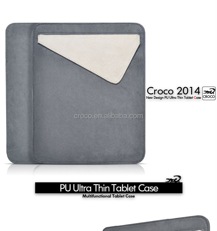 CROCO 2014 microfiber universal tablet sleeve, waterproof sleeve for samsung galaxy tab 10.1
