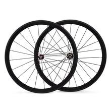 Hot sale accessoires vélo 700c roues de carbone pour vélo de route, Pneu roues en carbone