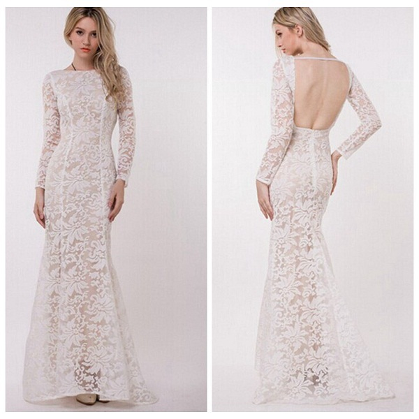 Lace White Full Length