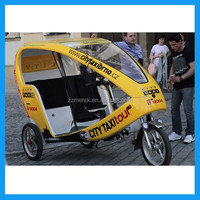 motorized battery bike taxi for sale