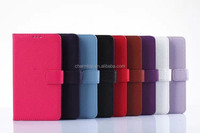 Litchi Leather Wallet Case For Samsung Galaxy Note Edge N9150