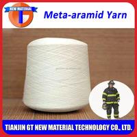100% original meta aramid yarn for flame retardant sewing thread & protective clothing