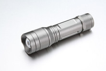 High Lumens Aluminum Flashlgiht with Zoomable Function