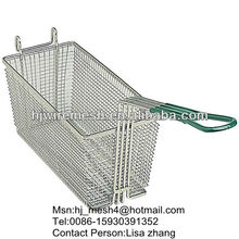 stainless steel kitchen cooking wire mesh basket (factory)