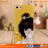 Beautiful girl phone case PC Cover case for iphone 5/5s/6