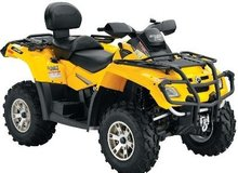 2008 Can-Am Outlander MAX 650 H. O. EFI XT ATV