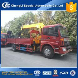 factory selling foton auman truck mounted crane manufacturer