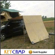 Voyage remorque caravan pliable soleil abri avec toiture bâches couverture