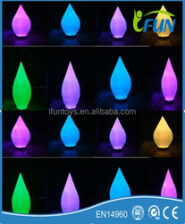 inflatable cone led decoration for rave party /rave party decoration inflatable cone / inflatable cone decoration