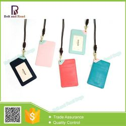 New product Promotion personalized nylon or pu card holder wallet