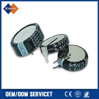 Coin Type 1F 5.5V Super Capacitor for Power Use