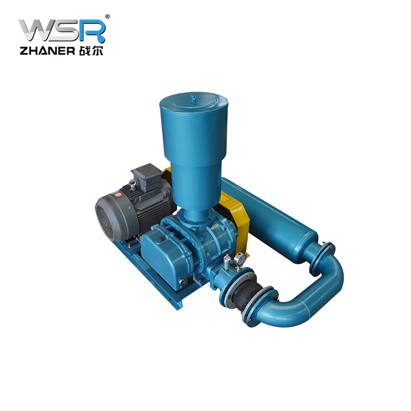Low Pressure Blower : Low pressure roots air blower used to transport media as