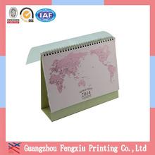 Mini Paper Calendar Desk Calendar 2015 Hot Sale