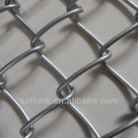 stainless steel chain link fence fabric ( low price and high quanlity)