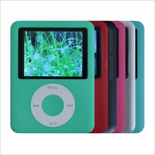 MP4/MP3 Player 8GB(3th Gen)Media/Music/Audio Player (6 Color for Choosing) with FM Radio
