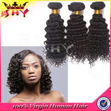 Wholesale remy kinky curly brazilian italian weave human hair extension