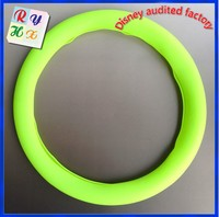 Uneven texture surface silicone zebra steering wheel cover for auto cars