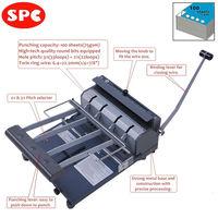 SPC RBX-N10 3:1 & 2:1 pitch book binding machine
