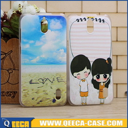 Custom printed 3D hard phone case for huawei y625 case cover