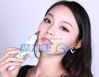 electric ultrasonic portable vibrating facial pore cleaning nisha skincare