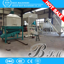 Double-deck jacketed conditioners ring die fish feed pelletizer