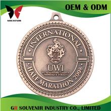 Custom design metal custom various of copper plated blank frame metal souvenir medal
