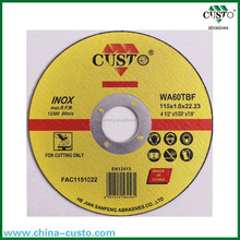 T41 Super Thin Resin Bond Cut Off Wheel For Stainless Steel